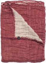 Hannelin sprei - 160 x 260 cm - Auburn/natural