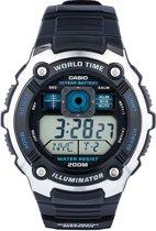 Casio Ae-2000W-1Avef - Horloge - 47.7 mm - Kunststof - Zwart