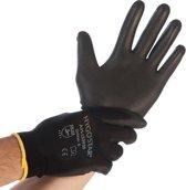 Hygostar werkhandschoen Black Ace maat M/8 per paar