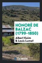 Honor de Balzac (1799-1850)