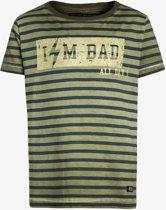 T-shirt jongens|gestreept Mt 116/122
