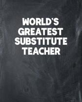 World's Greatest Substitute Teacher