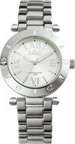 Ikki Fashion Daisy - Horloge - 40 mm - Zilver