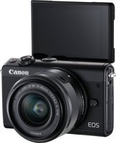 Canon EOS M100 + 15-45mm + 50GB Irista - Zwart