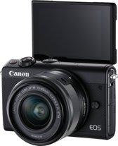 Canon EOS M100 + 15-45mm + 50GB Irista Cloud Opslag - Zwart