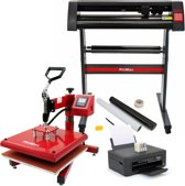 PixMax Set 38cm Swing Transferpers, Snijplotter, Printer, Weeding Pack
