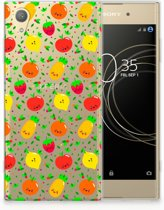 Sony Xperia XA1 Plus TPU Hoesje Design Fruits