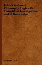 Lotze's System of Philosophy