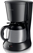 Philips Daily HD7474/01 - Koffiezetapparaat - Zwart/zilver