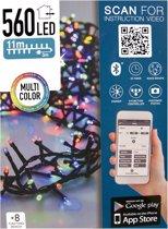 Micro Cluster met App bediening - 560 LED's 11 meter - multicolor