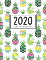 2020 Weekly Monthly Planner: Monthly Calendar - Weekly Organizer - Monday Start - White Cover - January 2020 - December 2020