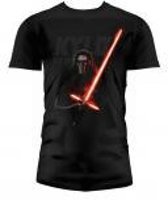 Merchandising STAR WARS 7 - T-Shirt Kylo Lightsaber - Black (M)