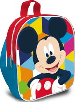 Mickey Mouse Happy - peuterrugzak - 29 cm - Multi