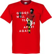 Giggs Will Tear You Apart T-Shirt - XS