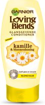 Garnier Loving Blends Kamille & Bloemenhoning Glansgevende Conditioner - 200 ml - Crèmespoeling
