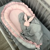 Babynestje Ruches Roze Dolly