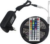 Led strip - 5 meter - Set - RGB - Kleuren – Led - Inclusief goede afstandsbediening met 44 knoppen en EU voeding - Hestias®