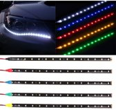 Auto decoratieve LED Strip set Rood