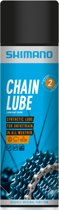 Shimano Chain Lube Kettingolie All-Weather - Spuitbus 400ml