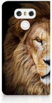 LG G6 Standcase Hoesje Design Leeuw