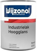 Wijzonol Industrielak Hoogglans, Wit - 1 liter