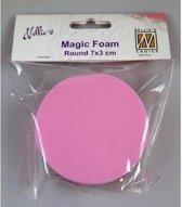 Nellies Choice Mixed Media Magic Foam rond 8cm. thick 3cm