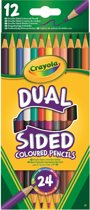Crayola 12 Duo-kleurpotloden (24kl.)