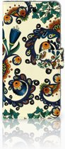 Huawei Mate 20 Lite Boekhoesje Design Barok Flower