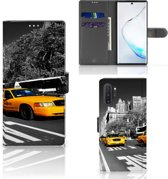 Samsung Galaxy Note 10 Plus Flip Cover New York Taxi