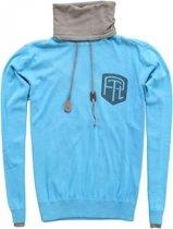 Petrol blauwe sweater - Maat M