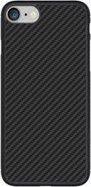 """Nillkin Hard Case Synthetisch Carbon voor iPhone 8 (4.7"""") - Zwart"""