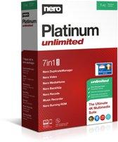 Nero Platinum Unlimited - 1 Apparaat / Levenslang - Windows