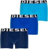 Diesel short 3 pack Seasonal Edition Boxer Trunk H 00SAB2-0AAMT-12 blauw-L