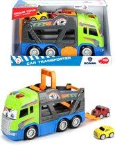 Dickie Happy Series - Scania Autotranportvrachtwagen (42cm)