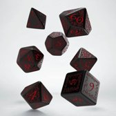 Polydice Set Q-Workshop Elvish Black Red