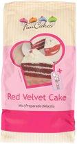 FunCakes Bakmix voor Red Velvet Cake 1kg