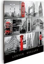 London  - Schilderij 50 x 40 cm