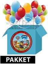 Paw Patrol feest/versiering pakket - Kinderfeestjes - Paw Patrol thema feestartikelen