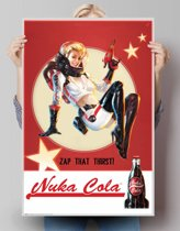 REINDERS Fallout 4 - nuka cola - Poster - 61x91,5cm