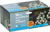 Grundig Solar snoerverlichting 50 LED's warm wit