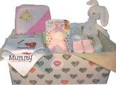 Babydoos - Konijntje - Meisje - Cadeau tip (geschenkmand)