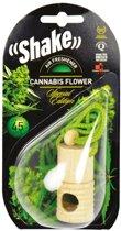 Shake Luchtverfrisser Cannabis + Navulling 2 X 4,5 Ml