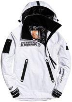 Superdry Snow Rescue Overhead heren ski jas 3XL Arctic White