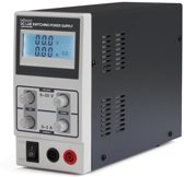SCHAKELENDE DC-LABOVOEDING 0-30 VDC / 0-3 A MAX MET LCD-SCHERM