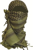 BCB Adventure sjaal Shemagh Olive/Black
