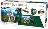 King Puzzelrol + 1000 Stukjes Puzzel - Neuschwanstein