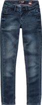 Vingino Meisjes Skinny Jeans - Deep Dark - Maat 134