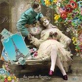 Vintage Papier Servetten - Love Couple - Decoupage - 20 stuks