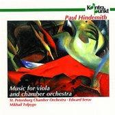Music For Viola: Webern, Hindemith