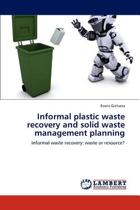 Informal Plastic Waste Recovery and Solid Waste Management Planning